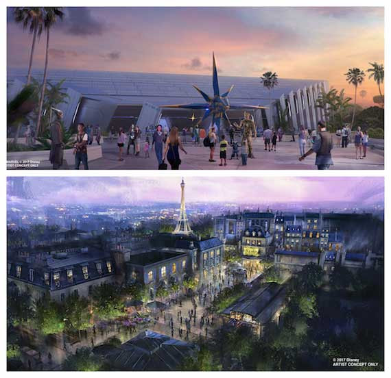 Image result for Guardians of the Galaxy-inspired attraction